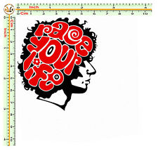 adesivo sticker marco simoncelli print pvc auto moto casco tuning helmet 1 pz.