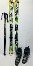 ELAN SKI PACKAGE 150cm ,ELAN BINDINGS, DALBELLO BOOTS, NEW POLES w/info can fit