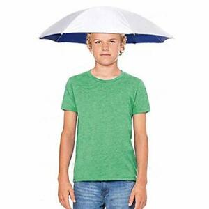 26'' Diameter Fishing Umbrella Hat, Hands Free UV Protection Umbrella for
