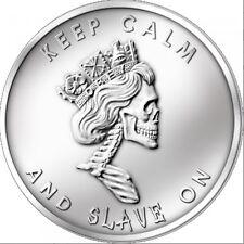 Silver Bullet Silver Shield SBSS Slave Queen 2013 1 oz .999 Silver Round