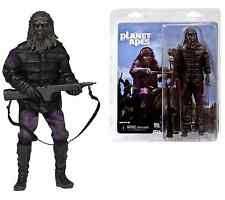 "NECA Planet of the Apes Classic Gorilla Soldier RETRO CLOTHED 8"" FIGURE /DOLL"