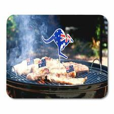 Australian Mouse Pad Bbq Lovely Computer Desktop Gamer Mats Tablet Pc Laptop