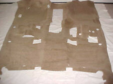 08-13 TAHOE YUKON HYBRID MD DARK CASHMERE (TAN) FRONT CARPET WITH BOSE OEM NEW!!