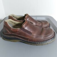 Dr. Martens Men's Size 10 Shoes Brown/Black Slip On Leather Performance Loafers