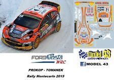 Ford Fiesta WRC - PROKOP - Rally Monte carlo 2015