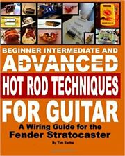 Fender 3-way 5-way lever switch CRL CTS Pot Wires Wiring Book on CD