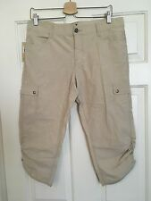 Women's Woolrich Pants Capri Cropped 8 Outdoors Camping Hiking NWOT Activity