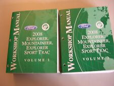 . Ford Explorer/Sport Trac Mountaineer 2008 Volume 1 +2 service shop manual