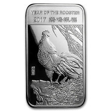 5 oz Silver Bar - APMEX (2017 Year of the Rooster) - SKU# 101667