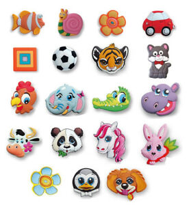 Kids Rubber Handles /Childrens Novelty Wardrobe Drawer Cabinet Cupboard Knobs