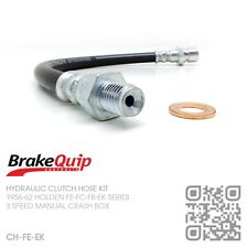 BRAKEQUIP RUBBER CLUTCH HOSE [1956-62 HOLDEN FE-FC-FB-EK UTE/VAN/SEDAN/WAGON]