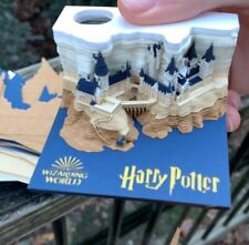 Harry Potter Memo Pad Reveals Hogwarts Castle as You Tear Away Notes Gift