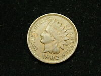 MUST GO SALE! XF 1902 INDIAN HEAD CENT PENNY FULL LIBERTY * COLLECTIBLE COIN 67H