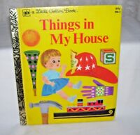 A Little Golden Book things in My House
