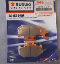Genuine Suzuki LT-F400 RH Right Front Brake Pad & Shim Set 59100-31870