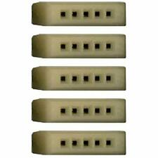 5 Pack Single Contact Point Block with Five Tie Points