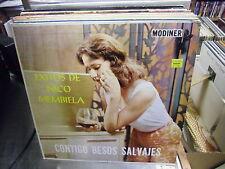 Exitos de Nico Membiela Contigo Besos Salvajes LP VG+ Modiner Records Import