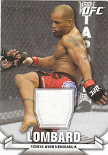 2013 Topps UFC Knockout Relic Fighter Worn Memorabilia Hector Lombard 076/188