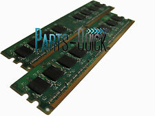 2GB Kit 2X 1GB DDR2 PC2-4200 533Mhz Dell Dimension E310 E310n E510 Memory RAM