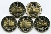 Germany 2010 - 5 x 2 Euro Commemorative - Bremen City Hall (UNC)