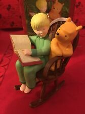 Christmas Disney Hallmark Keepsake Winnie The Pooh Ornament Chris Robin In Box