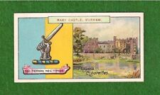 RABY CASTLE Lord Barnard Staindrop Family Coat of Arms & Crest 1909 vintage card