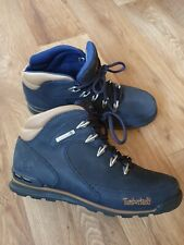 Timberland Navy Blue Men Boots Size Uk 7 -leather