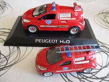 lot 2 Peugeot concept-car H2O au 1/43 et mini-norev