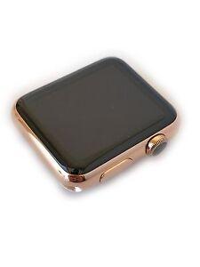 24 Karat Rose Gold 42MM Apple Watch Stainless Steel Custom Body Only