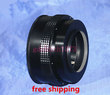 M72(1mm pitch) screw to M65 Adjustable Focusing Helicoid adapter 25mm~55mm