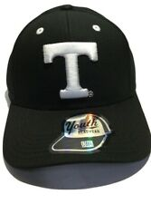 Ncaa Tennessee Volunteers Cap Youth Boys Black & White Structured Adjustable Hat