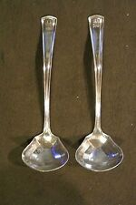 2 Vintage Alvin Silmet George Washington Gravy Spoons
