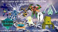 Pokemon Sword And Shield Shiny All Ultra Beast Bundle 6IV Battle Ready