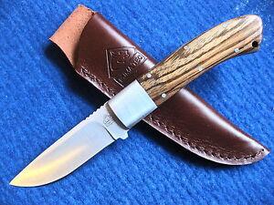 PUMA ZEBRANHOLZ Messer Nicker Sammlermesser Gürtelmesser Jagdmesser 312609 NEU