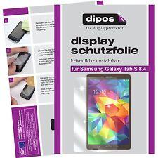 2x dipos Samsung Galaxy Tab S 8.4 t700 Protector de Pantalla transparente