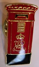 England London Postal Box used Hat Lapel Pin Tie Tac HP2544