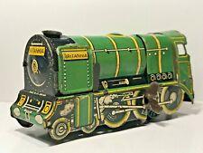 🚂 Vintage O Gauge WELLS BRIMTOY BRITANNIA - Rare Green Locomotive Clockwork GWR