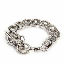 Bangle Bracelet 20mm Fashion Tibet Silver Dragon LW