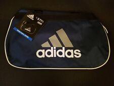 Adidas Diablo Black Gray White Gray Small Duffel Bag Gym Bag