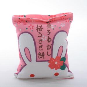 Dolls Square Pillow Cushion Toy Doll Throw Pillow Plush Rabbit Dinosaur Chicken