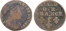 Louis XIV, liard de France, Lille 1694, RARE - 153