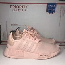 NWB Adidas NMD R1 Casual Women's Size 8.5 Running Shoes Pink/ Pink/ Pink FX4294