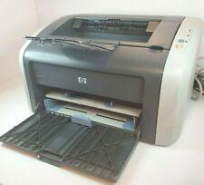 HP LaserJet 1012 Q2461A WorkGroup B&W Laser Printer Working - EUC