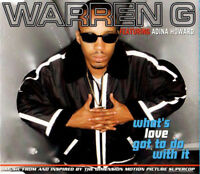 Warren G Featuring Adina Howard ‎Maxi CD What's Love Got To Do With It - Europe