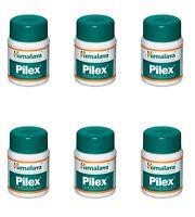 Pilex 360 Tablets Himalaya Herbals 6 Jars Piles Free Ship