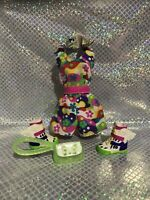 Barbie Doll Shorts Jumper Sneakers W/wings Great Outfut +bag