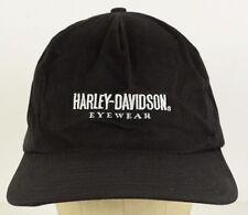 Harley Davidson Eyewear Cycles Embroidered Black Baseball Cap Hat Adjustable