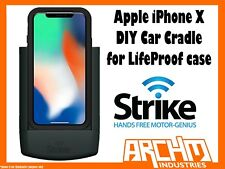 STRIKE ALPHA APPLE IPHONE X CAR CRADLE FOR LIFEPROOF CASE DIY - BUILT-IN CHARGER