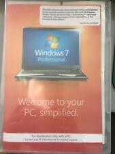 Microsoft Windows 7 PRO PROFESSIONAL 32Bit OEM FULL VERSION WITH KEY