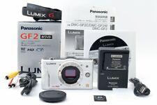 *Read* Panasonic LUMIX DMC-GF2 12.1MP Digital Camera White Body [Exc+++] #646330